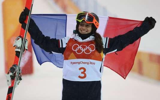 Perrine Laffont exulte après sa victoire - Mike Blake / Reuters