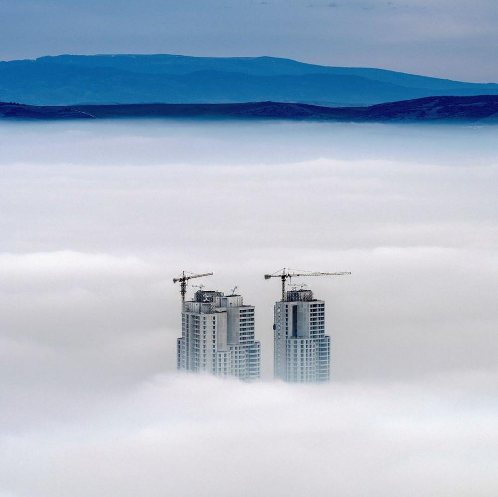 Macedonia : Tops of the highest buildings