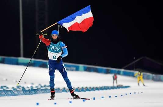 Martin Fourcade remporte sson 3è titre olympique - Toby Melville / Reuters