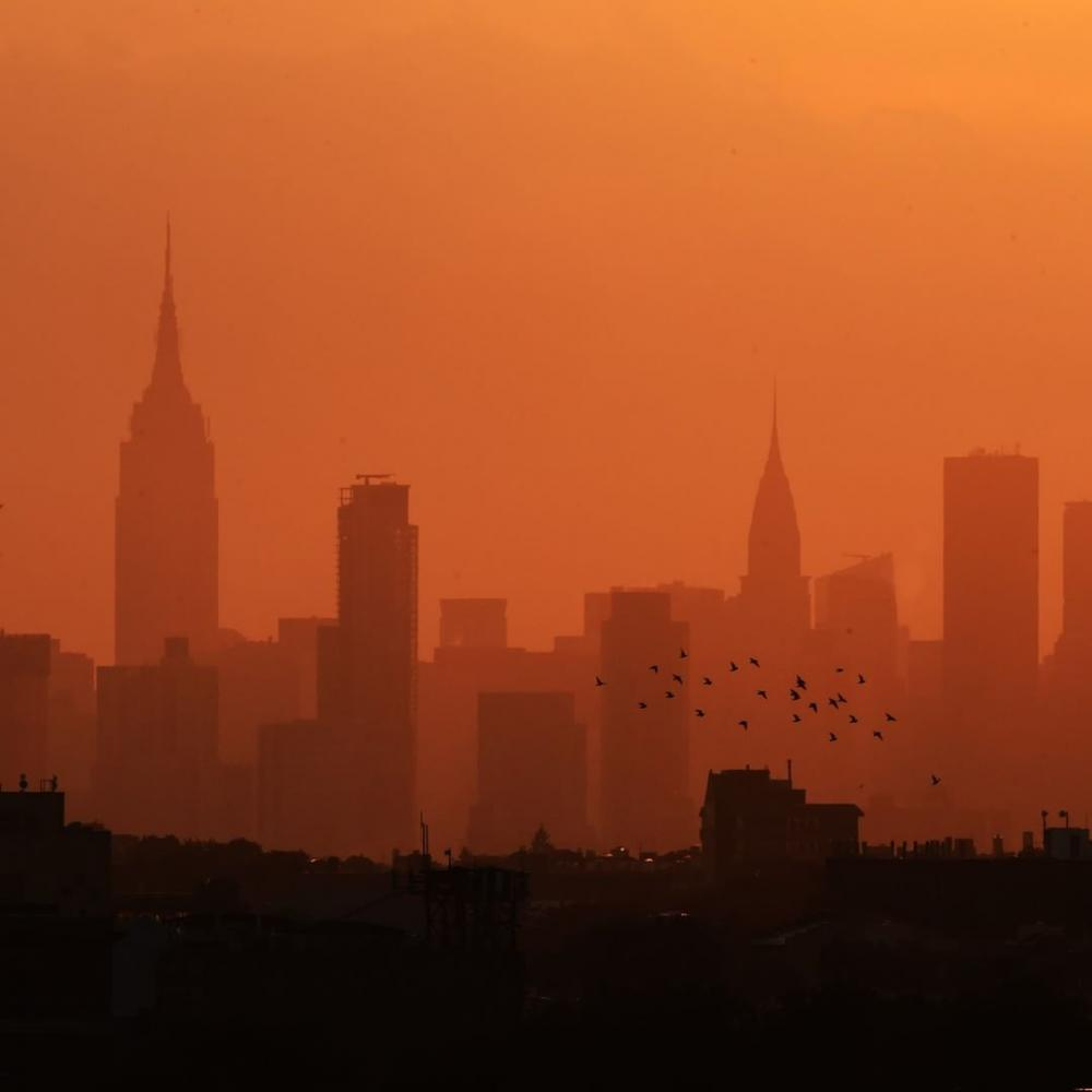 USA : skyline de New York