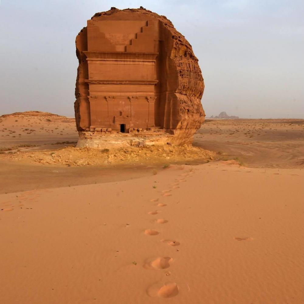 Arabie Saoudite : tombeau de Qasr al-Farid